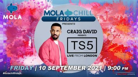 Craig David Konser di Mola TV, Tampil Langsung dari London