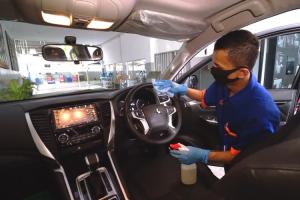Simak, Tips Memilih Disinfektan yang Aman untuk Interior Mobil