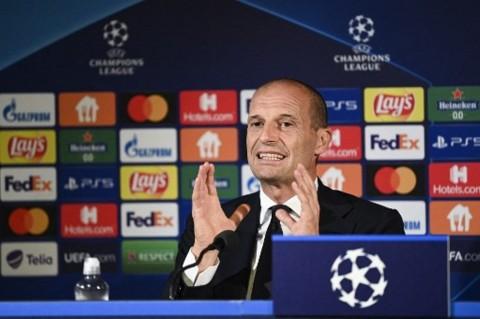 Allegri Sebut Juventus tidak Menargetkan Juara Liga Champions Musim Ini