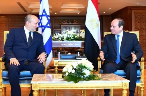 Pertama dalam Satu Dekade, PM Israel Kunjungi Mesir