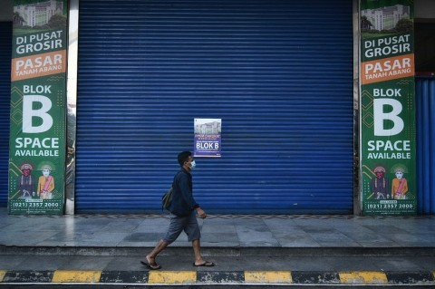 30% Pedagang Pasar Bangkrut karena Covid-19