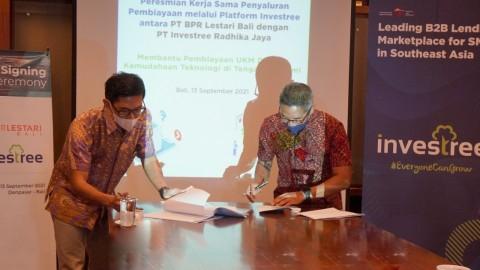 BPR Lestari Gandeng Investree Perkuat Layanan Digital