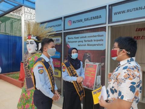 Menuju Wilayah Bebas Korupsi, Rutan Salemba Perbaikan Pelayanan Publik