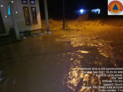 Banjir Bandang di Kabupaten Bogor Disebabkan Pendangkalan Sungai