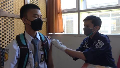 Capaian Vaksinasi Pelajar di Sulsel Baru 6%