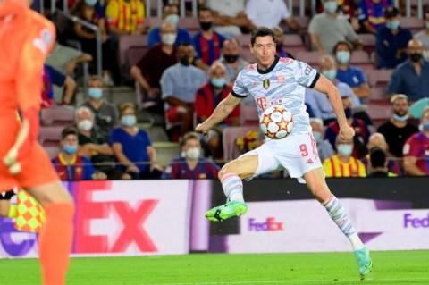 Bayern Hajar Barcelona Tiga Gol di Camp Nou