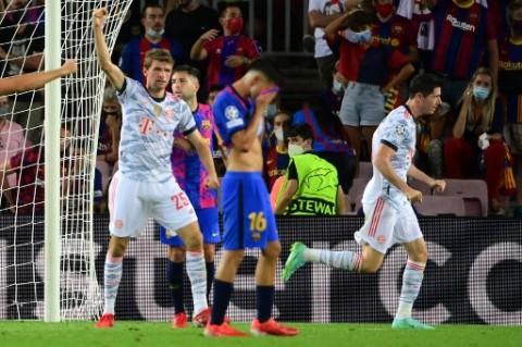 Bayern Muenchen Kembali jadi Mimpi Buruk Barcelona