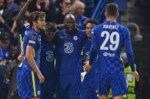 Lukaku jadi Penentu Kemenangan Chelsea atas Zenit