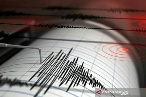Gempa Magnitudo 5,4 Guncang Sulawesi Utara