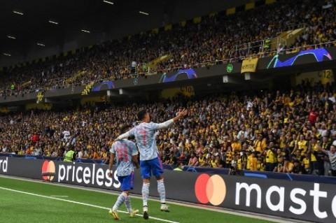 Alasan Ronaldo dan Fernandes Diganti saat MU Kalah dari Young Boys