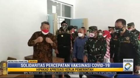 Keluarga Besar TNI AD Salurkan 15 Ribu Vaksin Covid-19 Sebulan Terakhir