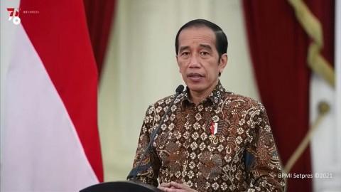 Jokowi Imbau Tetap Waspada Meski Kasus Covid-19 Turun