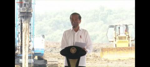 Jokowi: Indonesia Harus Keluar dari Jebakan Negara Pengekspor Bahan Mentah