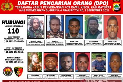 Kapolda Papua Minta Foto Buron KNPB Disebar hingga Pelosok