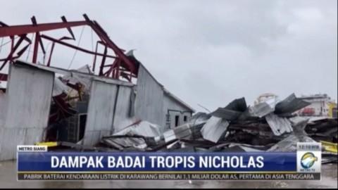 Lousiana dalam Situasi Darurat Usai Diterjang Badai Nicholas