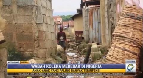 Wabah Kolera Menyerang Nigeria, Ribuan Orang Meninggal Dunia