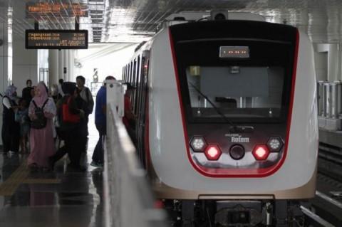 LRT Jabodebek Ditargetkan Beroperasi 2022