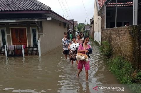 Banjir di Lebak Surut, BPBD Imbau Warga Tetap Waspada