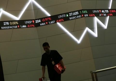 Walau Data Perdagangan Surplus, IHSG Turun 0,31%