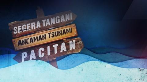 BMKG Gelar Latihan Mitigasi Tsunami 28 Meter di Pacitan