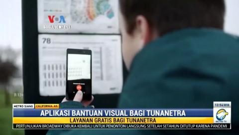 Aplikasi Bantuan Visual untuk Penyandang Tunanetra, Begini Cara Kerjanya