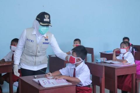 PTM Tingkat SD di Palembang Ditargetkan 100% Akhir September