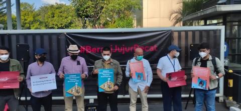 Protes Pemecatan, 57 Pegawai KPK Bikin Kantor Sendiri