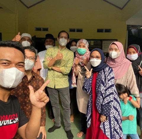 Nuri Sampaikan Keluh Kesah Guru saat Nadiem <i>Nginap</i> di Rumahnya
