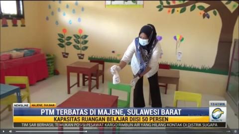 TK di Majene Gelar PTM Terbatas di Tengah Pandemi