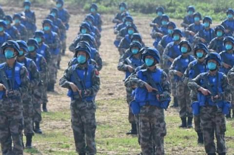 Tiongkok Jadi Tuan Rumah Latihan Pasukan Perdamaian PBB