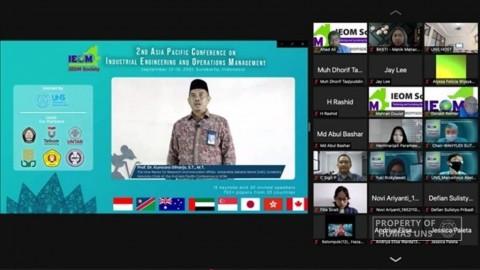 UNS Tuan Rumah Konferensi Internasional 2nd Asia Pacific IEOM 2021