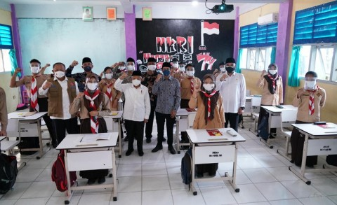 Wapres Pastikan PTM di Kabupaten Tangerang Sesuai Prokes