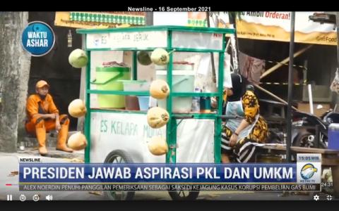 Jokowi Ingin PKL Terlibat dalam Penyaluran BLT