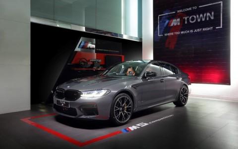 Goda Orang Kaya, BMW M5 Competition Siap Dikebut