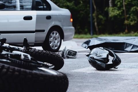 2 Tewas, Kecelakaan Motor <i>Adu Banteng</i> di Tangerang