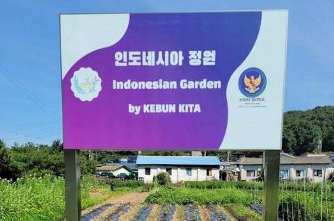 Dubes RI Resmikan Kebun Indonesia di Korea Selatan