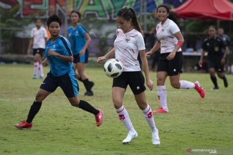 Timnas Sepak Bola Putri Indonesia Siap Arungi Kualifikasi Piala Asia 2022