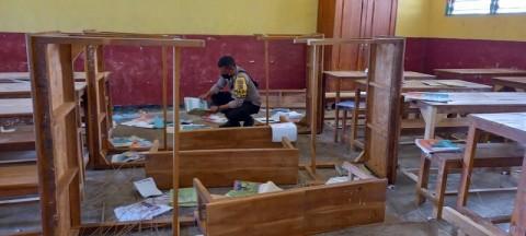 2 Sekolah di Kupang Dirusak Orang Tak Dikenal