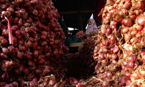 KM Sirimau Tak Berlayar, 80 Ton Bawang Merah di Kupang Terancam Busuk