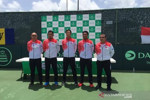 Tim Tenis Indonesia Kalah dari Barbados di Davis Cup 2021