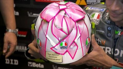 Yuk, Intip Makna Desain Helm Rossi di MotoGP Misano