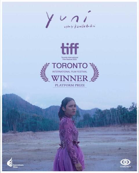 Menang di Festival Film Toronto, Film Yuni Terinspirasi Puisi Sapardi Djoko Damono