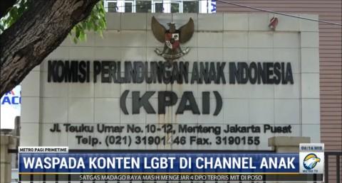 Kominfo Tutup Akses Tayangan Video LGBT di YouTube Kids