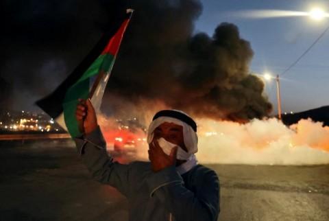 Buntut Pelarian 6 Tahanan, Israel Tangkap Puluhan Warga Palestina
