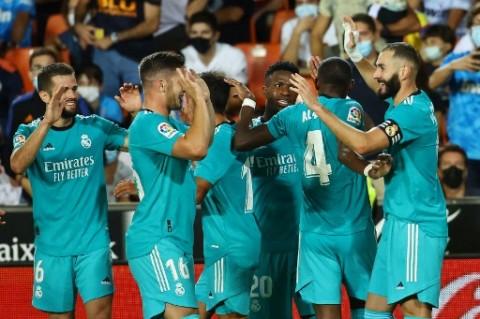 Valencia vs Real Madrid: Los Blancos Comeback pada Menit-menit Akhir