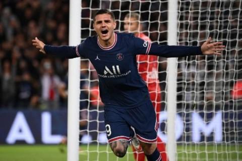 PSG vs Lyon: Mauro Icardi jadi Pahlawan Kemenangan PSG