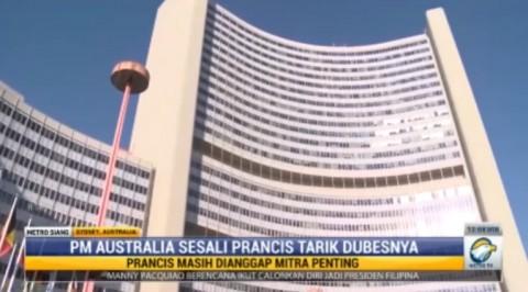 PM Australia Sesalkan Penarikan Duta Besar Prancis