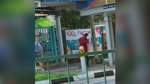 Badut Berkeliaran Menakuti Siswa Sekolah di Singapura