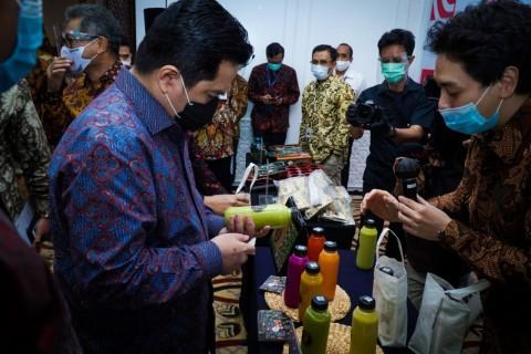 Erick Thohir Minta UMKM Bali Bersiap Menyongsong Bisnis Pascapandemi