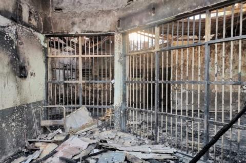 3 Petugas Jadi Tersangka Kebakaran Lapas Tangerang